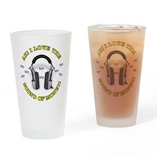 Headphones-MONEY.jpg Drinking Glass