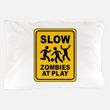 zombies at play Pillow Case