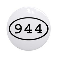 944 Oval Ornament (Round)