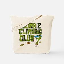Zombie Climbing Club Tote Bag