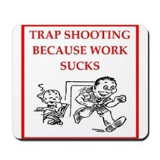 trap shooting Mousepad