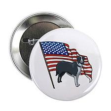 USA Border Collie Button