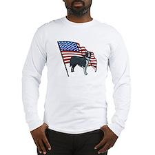 USA Border Collie Long Sleeve T-Shirt