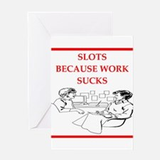 slots Greeting Cards