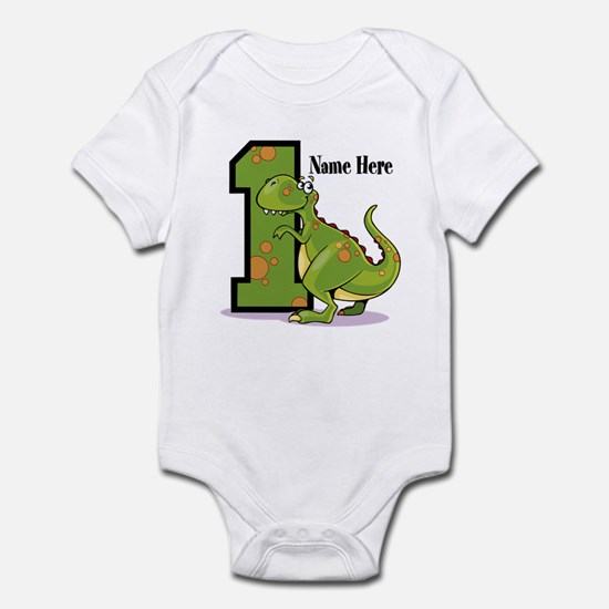 1st Birthday Dinosaur Infant Body Suit
