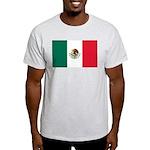 Mexico Flag Light T-Shirt