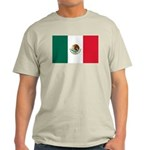 Mexico Flag Light T-Shirt