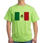 Mexico Flag Green T-Shirt