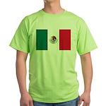 Mexico Flag Green T-Shirt