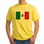 Mexico Flag Yellow T-Shirt