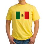Mexico Flag Yellow T-Shirt