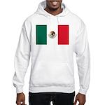 Mexico Flag Hooded Sweatshirt
