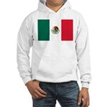 Mexico Flag Hooded Sweatshirt