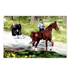 Amish Boy and Girls Postcards (Package of 8)