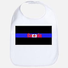 Canada Police Bib