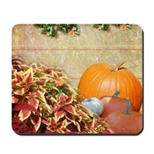 Fall Colors and Leaves Mousepad