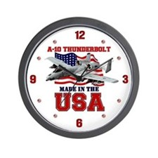 A-10 Thunderbolt Wall Clock
