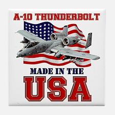 A-10 Thunderbolt Tile Coaster