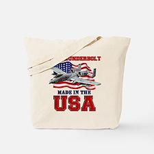 A-10 Thunderbolt Tote Bag