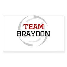 Braydon Rectangle Decal