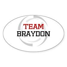 Braydon Oval Decal