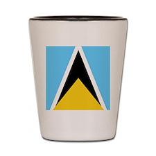 St Lucia Shot Glass