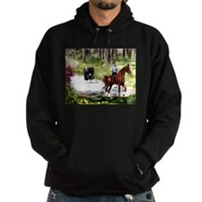 Amish Boy and Girls Hoodie