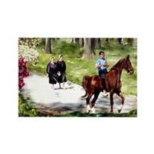 Amish Boy and Girls Magnets