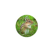 Chipmunk Mini Button (10 pack)