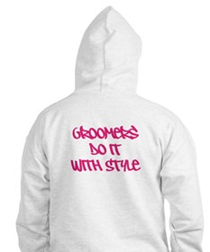 Groomers Do It With Style Hoodie