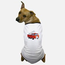 Fire Truck Dog T-Shirt