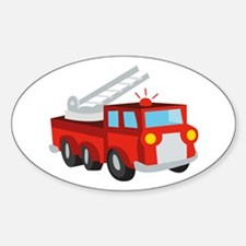 Fire Truck Decal