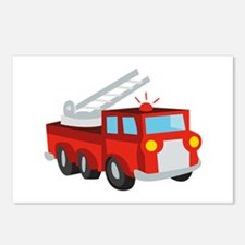 Fire Truck Postcards (Package of 8)