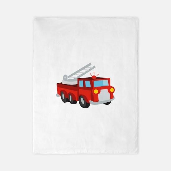 Fire Truck Twin Duvet