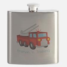 Fireman In Training Flask