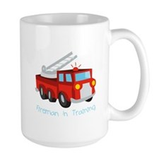 Fireman In Training Mugs