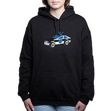 Police Car Women's Hooded Sweatshirt