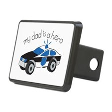 My Dad Is A Hero Hitch Cover