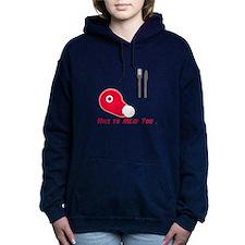Nice To Meat You Women's Hooded Sweatshirt