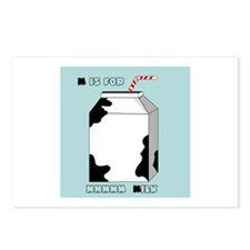 M Is For Milk Postcards (Package of 8)