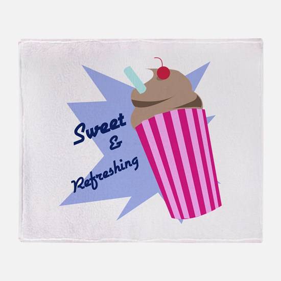 Sweet And Refreshing Throw Blanket