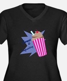 Sweet And Refreshing Plus Size T-Shirt