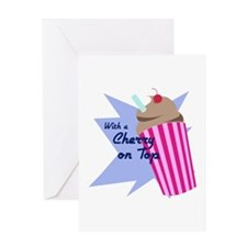 Cherry On Top Greeting Cards