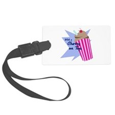 Cherry On Top Luggage Tag