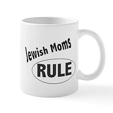 """""""Jewish Moms Rule"""" Mug Mugs"""
