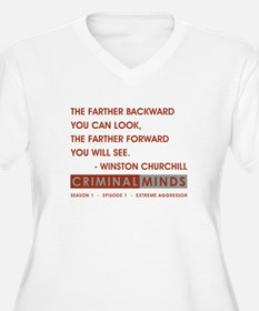THE FARTHER BACK. T-Shirt