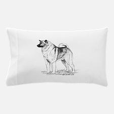 Norwegian Elkhound Pillow Case