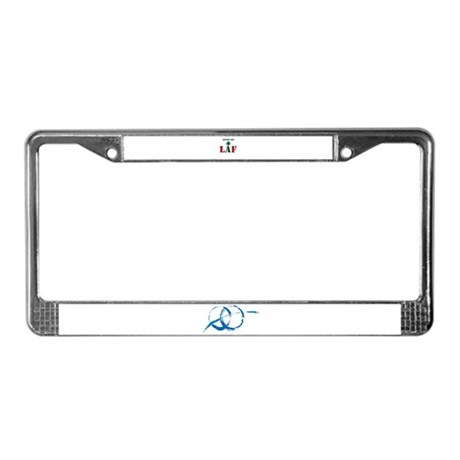 Support our LAF License Plate Frame