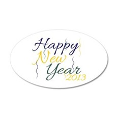 New Year 2013 Wall Decal