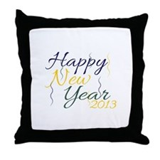 New Year 2013 Throw Pillow